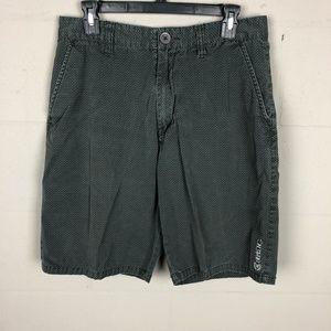 Billabong Men's Casual Shorts Size 32 Black P10